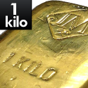 1 kilo Gold Bar with Assay Card prices
