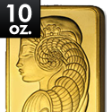 10 oz. Gold Bar 999 fine prices