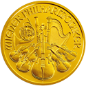 1 ounce Austrian Philharmonic prices