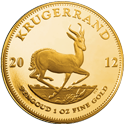 1 oz. South African Gold Krugerrand prices