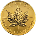 1 oz. Canadian Maple Leaf prices